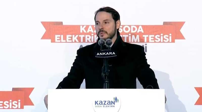 Kazan Soda Elektrik Üretim Tesisleri'nin AçılışTöreni Enerji Bakanlığınca Yayınlandı