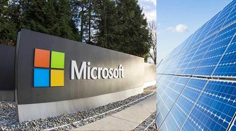 Microsoft Dev Güneş Enerji Anlaşmasına İmza Attı
