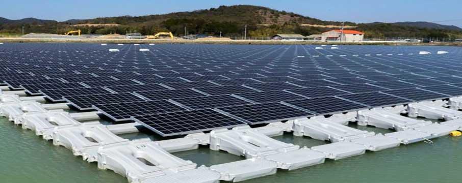 Yüzen Güneş enerji santrali