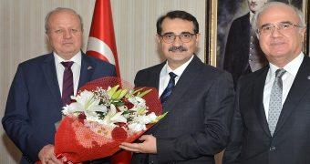 ASO, Bakan Dönmez'i Ziyaret Etti