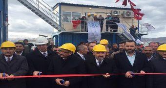 Ardahanda asfalt üretim tesisi açıldı