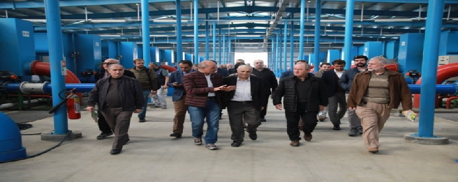 Sakarya'da Büyükşehir Belediyesi Su ve Kanalizasyon İdaresi
