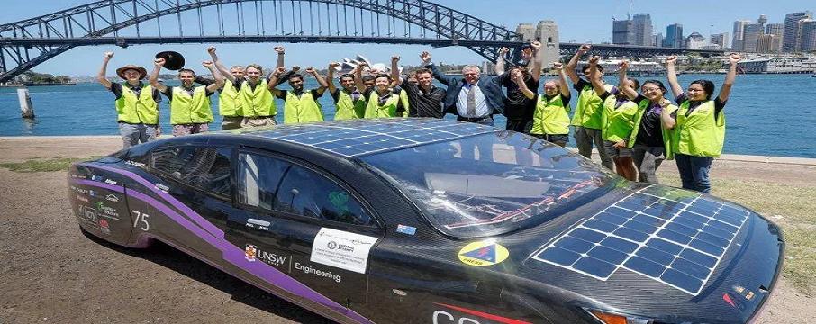 Güneş Enerjili Araçlarda Yeni Rekor Geldi!