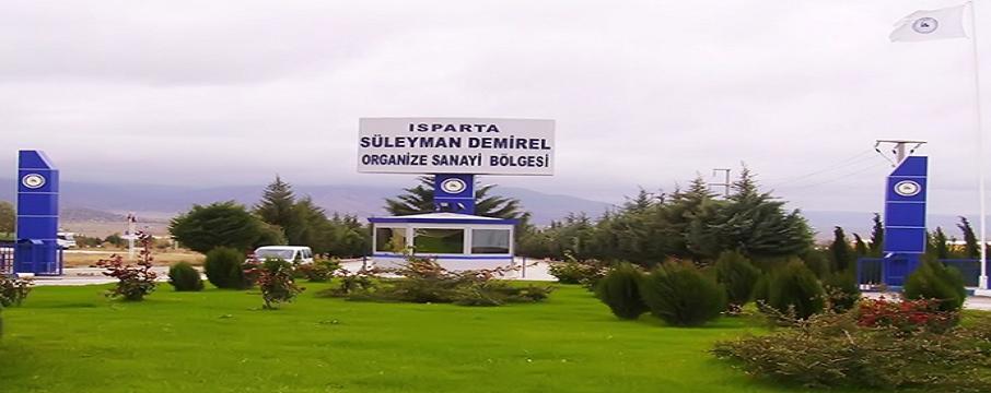 ısparta organize sanayi bölgesi