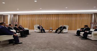 fatih dönmez azerbaycan cumhurbaşkanı İlham Aliyev