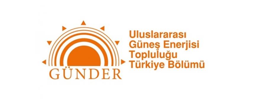 GÜNDER (Uluslararası Güneş Enerjisi Topluluğu – Türkiye Bölümü) enerji yönetimi