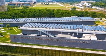 Şişecam Bilim Teknoloji ve Tasarım Merkezi güneş enerjisi