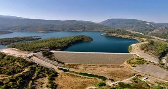 Marmaris Atatürk İçme Suyu Barajı güneş enerjisi
