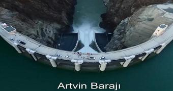 artvin barajı hidroelektrik enerji
