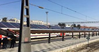 basmane garı güneş enerjisi santrali projesi