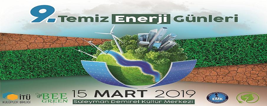 itü temiz enerji günleri 2019
