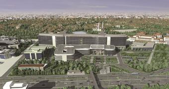 Kartal Dr. Lütfi Kırdar Eğitim ve Araştırma Hastanesi yeşil bina