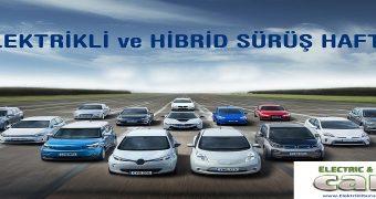 elektrikli ve hibrid sürüş haftası