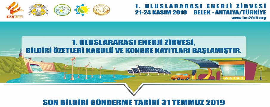 1.Uluslararası Enerji Zirvesi Kongresi ve Fuarı