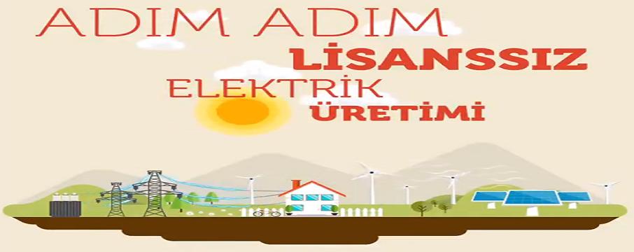 etkb lisanssız elektrik üretimi