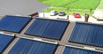 güneş enerjisi güneş kollektörü