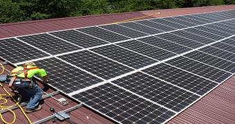 çatı tipi güneş enerjisi santrali