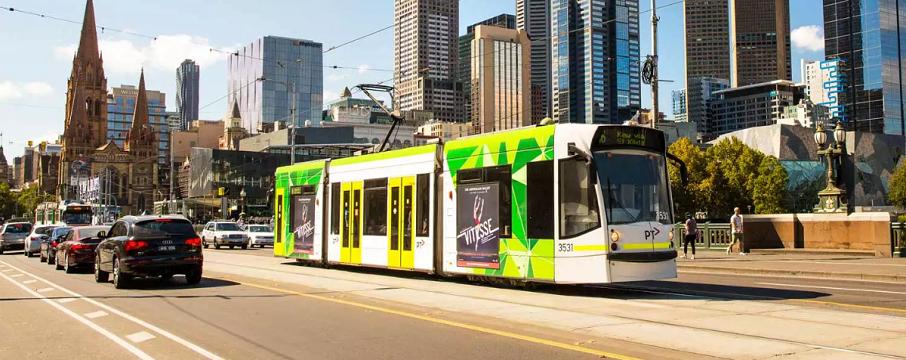 Melbourne tramvay hattı