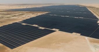 Noor Abu Dhabi güneş enerjisi santrali