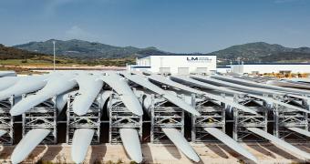 LM Wind Power rüzgar türbini üretim fabrikası