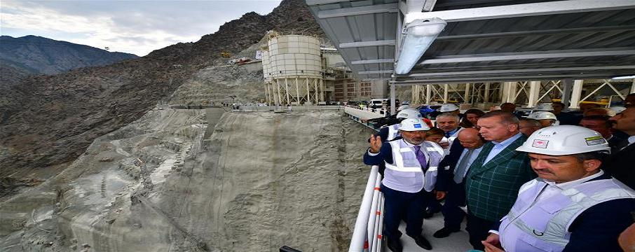 yusufeli barajı cumhurbaşkanı erdoğan