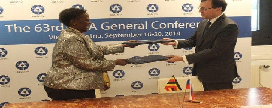 Rusya Uganda Nükleer Enerji Anlaşması