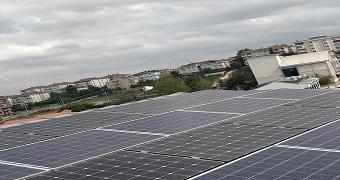 çatı tipi güneş enerjisi santrali elektrik üretimi