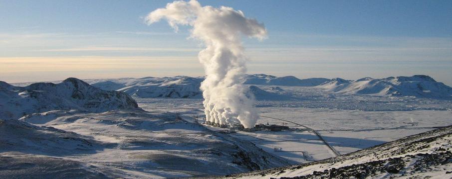 jeotermal enerji arama sahası