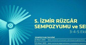 5. İzmir Rüzgar Enerjisi Sempozyumu