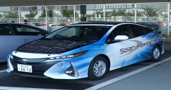 toyota güneş enerjili otomobili Prius
