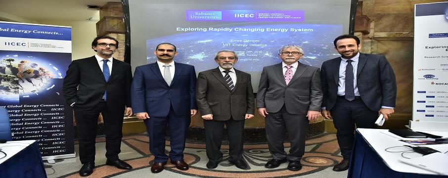IICEC Hızla Değişen Enerji Sistemini Keşfetmek semineri