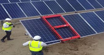 güneş enerjisi panel temizliği