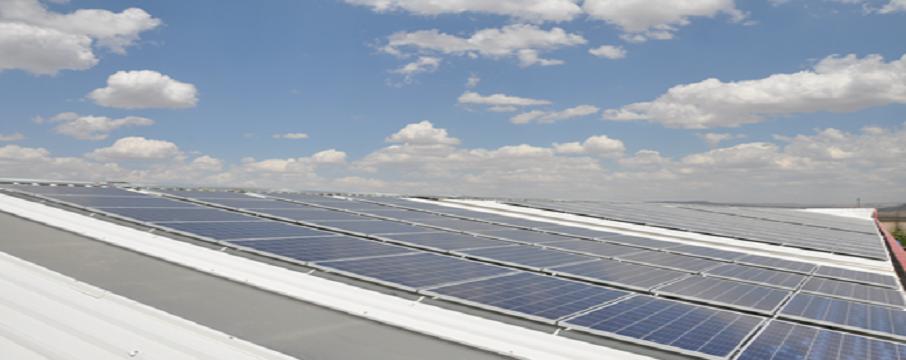 çatı tipi güneş enerjisi sistemi