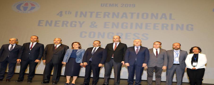 düzenlenen 4. Uluslararası Enerji ve Mühendislik Kongresi