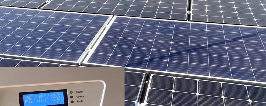 güneş enerjisinden gölgeleme